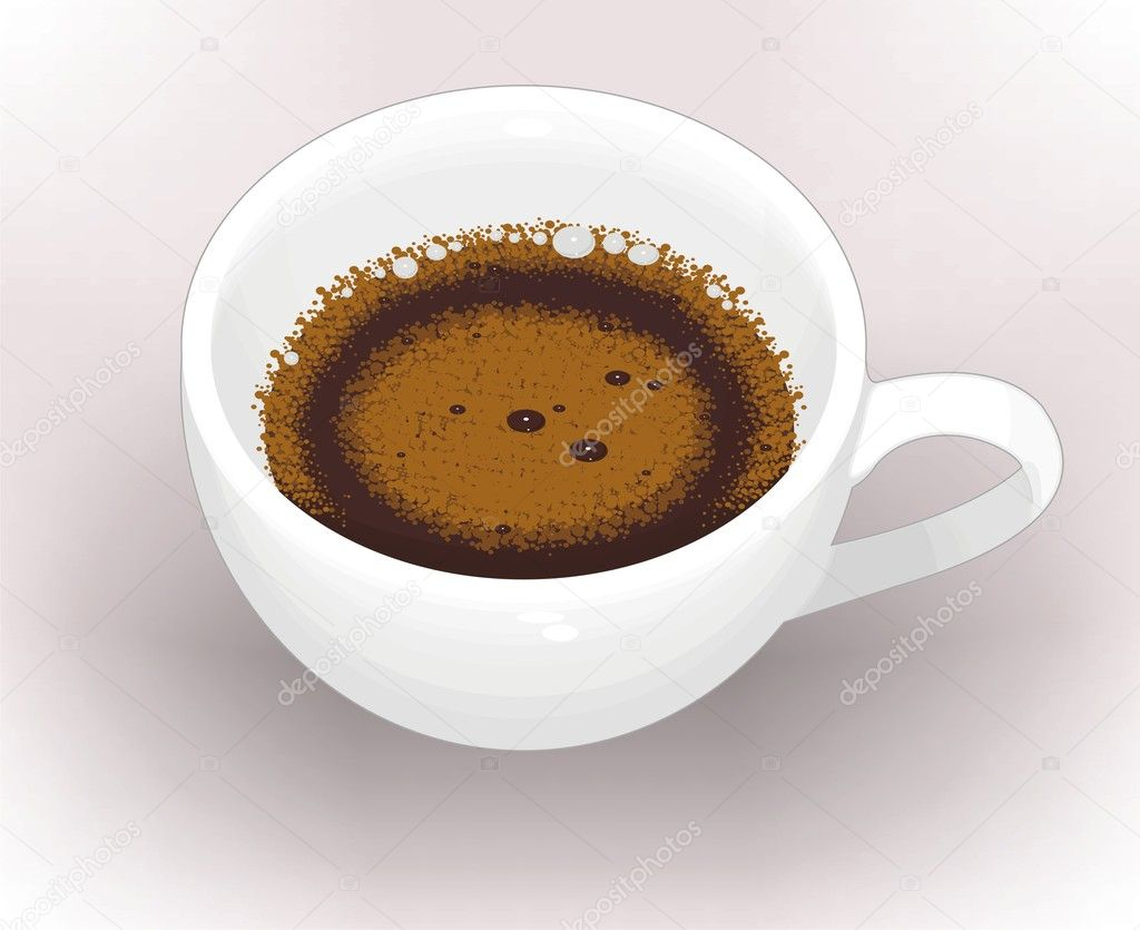 Cup of coffee — Stock Vector #1104455