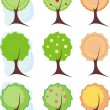 Trees — Stock Vector #1120577