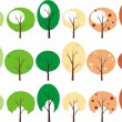 Trees — Stock Vector #1120578