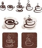 Café y chocolate — Vector de stock