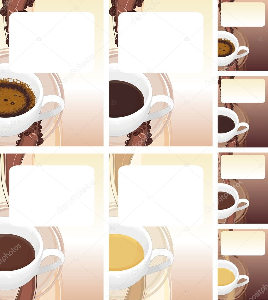 Coffee and chocolate — Stock Vector #1808551