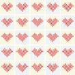 Vector valentine background with heart — Stock Photo #2099290