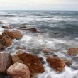 Stock Photo: Rocks in water