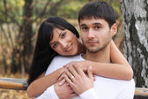 Man and a woman — Stock Photo