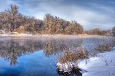 Kış nehir 8 — Stok fotoğraf