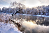 Winter river 6 — Stock Photo