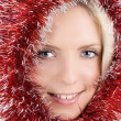 Beauty in christmas deco — Stock Photo