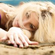 Stock Photo: On the beach 3