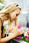 De geur van de bloemen — Stockfoto