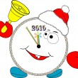 Alarm clock 2010 — Vector de stock #1126633