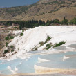 Travertine pools and terraces — Stok fotoğraf