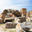 Ancient city of Hierapolis (Turkey). - Stock Photo