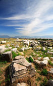Ancient city of Hierapolis — Stock Photo