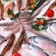 Stock Photo: Fresh seafood