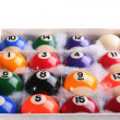 Royalty-Free Stock Photo: Set of billiard ball