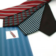 Father?s Day, ties - Stock Photo