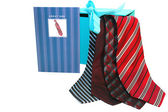 Four ties — Stock Photo