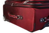 Red suitcase — Stock Photo