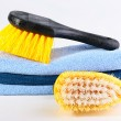 Brushes for cleaning — Stock Photo