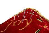 Pillow for needlework — Stock Photo