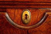 Porta de madeira — Fotografia Stock