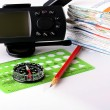Set for navigation - Stock Photo