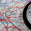 Map Dallas - Stock Photo