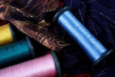 Coils with threads — Stock Photo