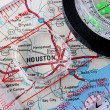 Map Houston - Stock Photo
