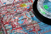 Map Baltimore — Stock Photo