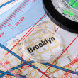 Map Brooklyn — Stock Photo