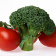Broccoli and tomatoes — Stock Photo #1993544