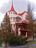 Piękny domek — Zdjęcie stockowe
