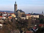 Staden kutná-gru. tjeckien. — Stockfoto