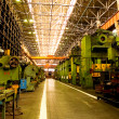 Mechanical manufacture. — Stockfoto