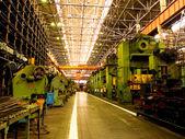 Mechanická výroba. — Stock fotografie