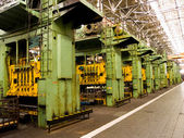 Mechanische fabricage. — Stockfoto