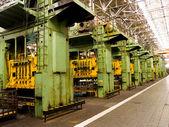 Produkcja mechanicznych. — Zdjęcie stockowe