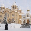 Piously-Nikolaev man's monastery. - Stock Photo