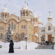 Stock Photo: Piously-Nikolaev man's monastery.