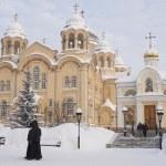 Piously-Nikolaev man's monastery. — Stock Photo