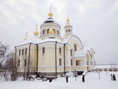 Novo-Tikhvin female monastery. — Stock Photo