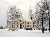 ノボ チフヴィン女子修道院. — ストック写真