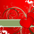 Royalty-Free Stock Vector: St. Valentine theme.