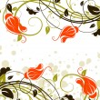 Floral abstract background — Stock Vector #2538431