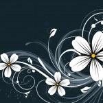 Abstact floral — Vector de stock
