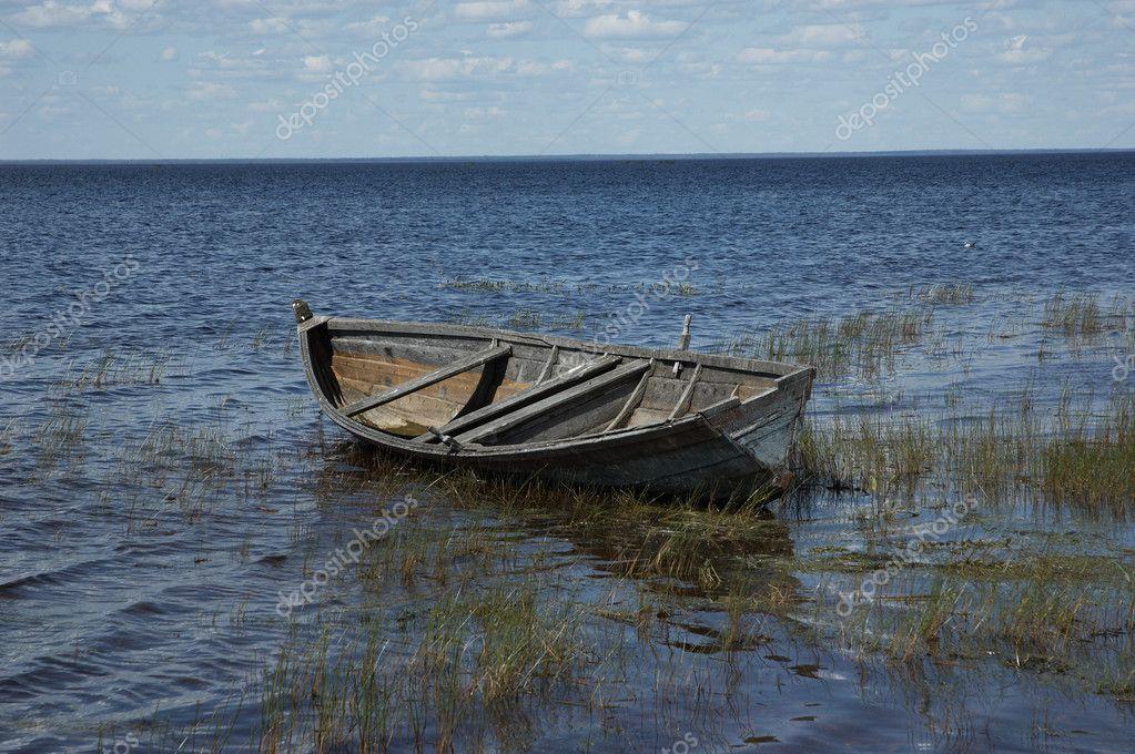 Деревенская лодка своими руками