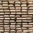 Stock Photo: Stack of wooden boards