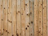 New knotted fence — Stock Photo