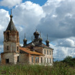 Old russian country church — Stock Photo